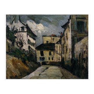 Rue des Saules. Montmartre by Paul Cezanne Postcard