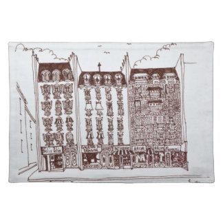 Rue du Dragon, Saint-Germain-des-Pres, Paris Placemat