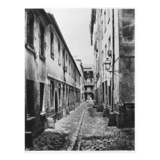 Rue du Fer-a-Moulin, Paris, 1858-78 Postcard