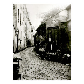 Rue du Jardinet and the cul-de-sac Postcard