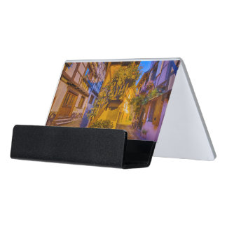 Rue du Rempart-Sud rue l'Allemand-Sud iEguisheim Desk Business Card Holder
