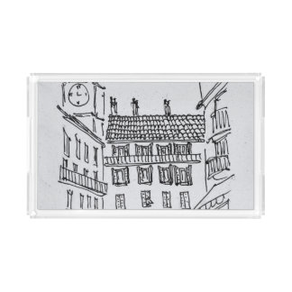 Rue Louis Gassin, Old Nice | Nice, France Acrylic Tray