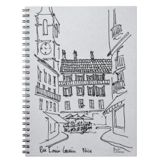Rue Louis Gassin, Old Nice | Nice, France Notebooks
