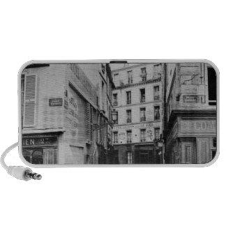 Rue Maitre Albert  Paris, 1858-78 iPhone Speaker
