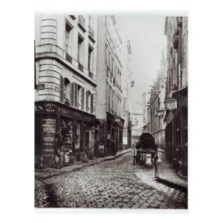 Rue Saint-Severin Postcard