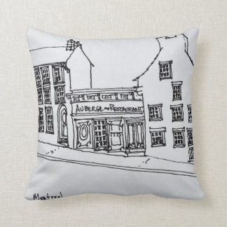 Rue St. Paul Old Town | Montreal, Canada Cushion