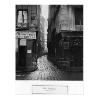 Rue Tirechape, from rue St. Honore, Paris Postcard