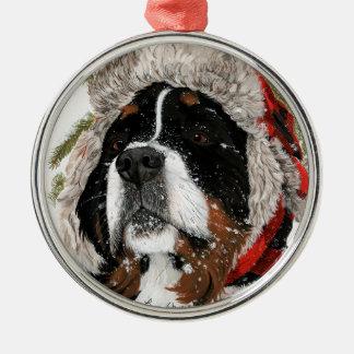 Ruff Winter Metal Ornament