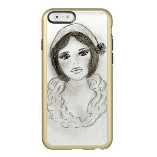 Ruffled Flapper Girl Incipio Feather® Shine iPhone 6 Case