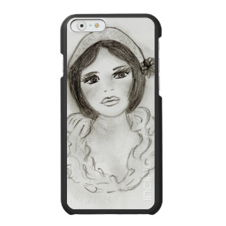 Ruffled Flapper Girl Incipio Watson™ iPhone 6 Wallet Case