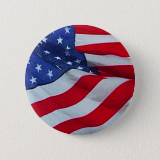 RUFFLED US FLAG BUTTON