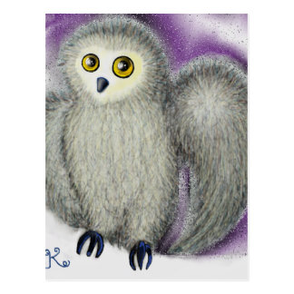 Ruffles the Owl Postcard
