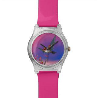 Rufous hummingbird - 3D render Watch