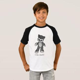 Rufus the Wolf shirt I like math