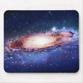 Rug with galaxy mouse pad