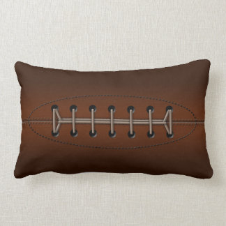 Rugby ball lumbar cushion