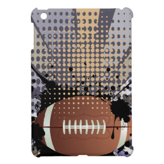 Rugby Ball on Rays Background iPad Mini Case