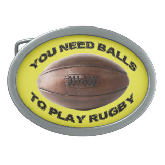 Rugby Belt Buckle