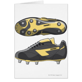 Rugby boots card