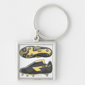Rugby boots key ring