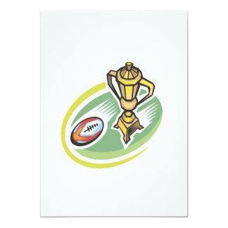 Rugby Champion 2 13 Cm X 18 Cm Invitation Card