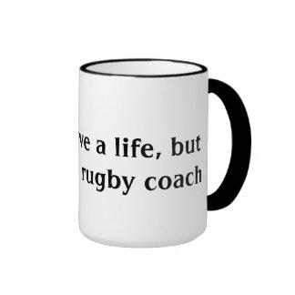 Rugby Coach Ringer Mug