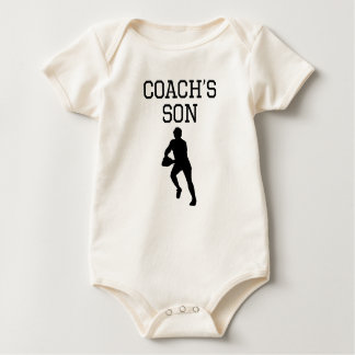Rugby Coach's Son Baby Bodysuit