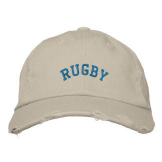 RUGBY EMBROIDERED HAT