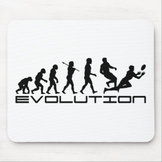 Rugby Football Sport Evolution Art Mouse Pad
