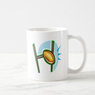 Rugby Goal Coffee Mug