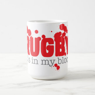 RUGBY - it's in my blood Coffee Mug