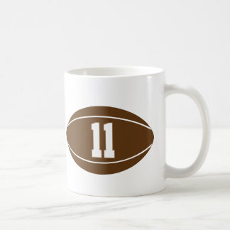 Rugby Jersey Number 11 Gift Idea Coffee Mug