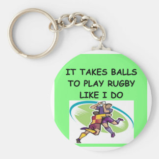RUGBY KEY RING