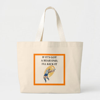 rugby large tote bag
