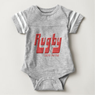 Rugby life style baby bodysuit