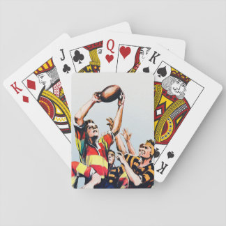 Rugby Lineout Playing cards