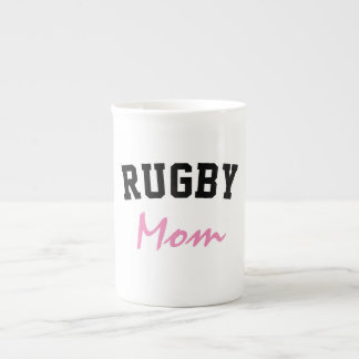 Rugby Mom Tea Cup