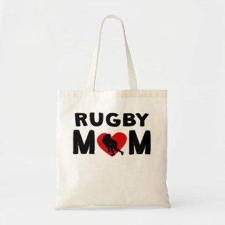 Rugby Mom Tote Bag