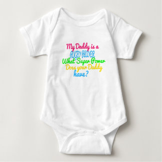 RUGBY PLAYER BABY BODYSUIT
