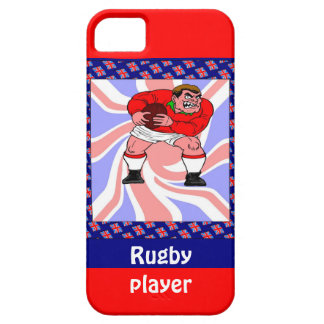Rugby player barely there iPhone 5 case