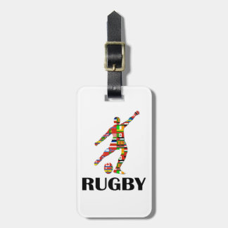 Rugby Tag For Bags