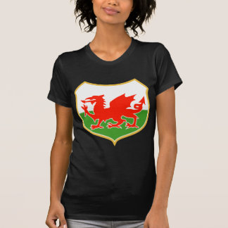 rugby wales red welsh dragon sports mascot T-Shirt