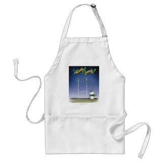 rugby xmas standard apron