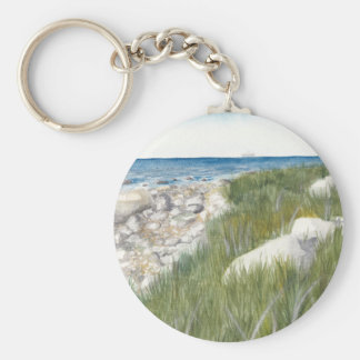 Rügen Beach Key Ring