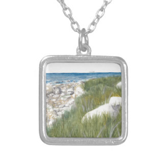Rügen Beach Silver Plated Necklace