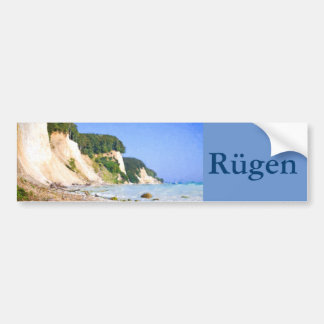 Rügen Chalk Cliffs Bumper Sticker