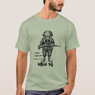 Ruger mini 14 cool military t-shirt design