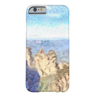Rugged and beautiful mountains barely there iPhone 6 case