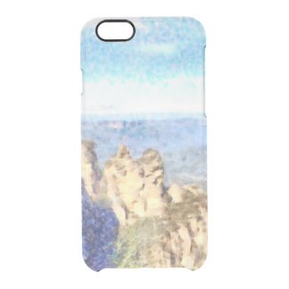 Rugged and beautiful mountains clear iPhone 6/6S case