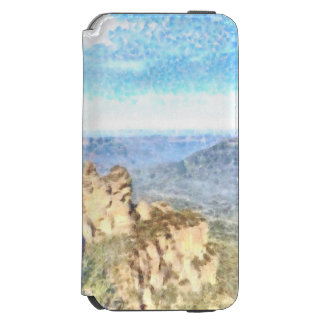 Rugged and beautiful mountains incipio watson™ iPhone 6 wallet case